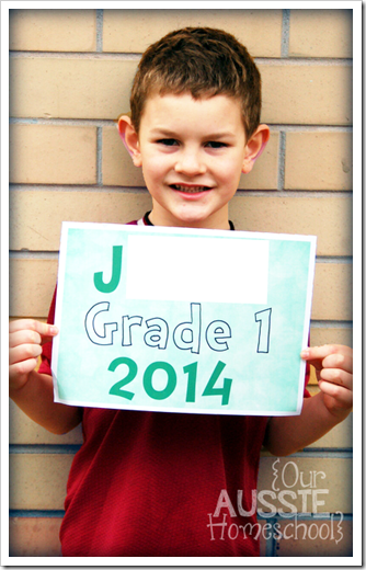 Our Aussie Homeschool - Our Curriculum: Grade One