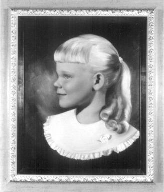 Judith Lynn Ostlund portrait, June 1958
