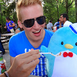 piwi is hungry too at Canada's Wonderland in Vaughan, Ontario, Canada