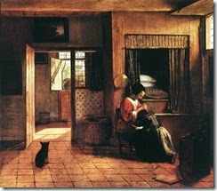 PIETER-DE-HOOCH-THE-MOTHER