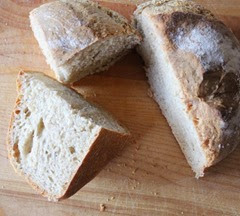Sliced Sourdough Irish Soda Bread