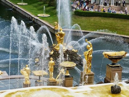 Obiective turistice Rusia: Fantani Peterhof