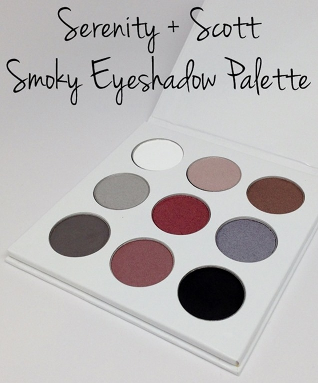 Serenity+Scott Smoky Eyeshadow Palette