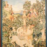 Gobelin 9137, Licorne a la fontaine, 150x110cm