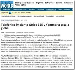 telefonica-yammer