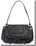 Reiss Black Quilted Satchel