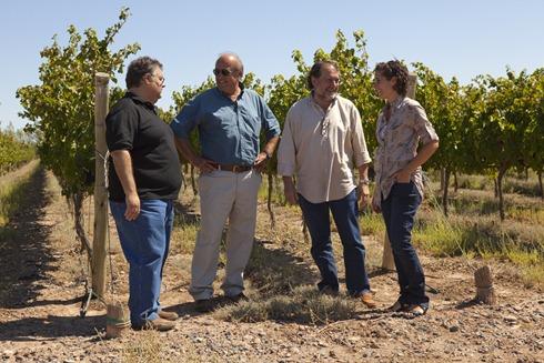 BDFM Marcelo Miras.Julio Viola, Michel Rolland y Ana Viola 02