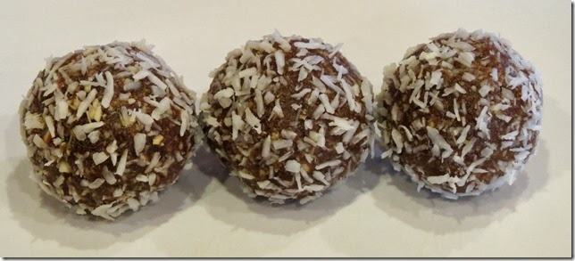 No Bake Gingerbread Cookie Balls--Grain Free, Refined Sugar Free, Gluten Free, Vegan 12-6-13