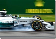 Rosberg conquista la pole del gran premio del Canada 2014