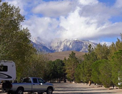 RV Park View of Mountains