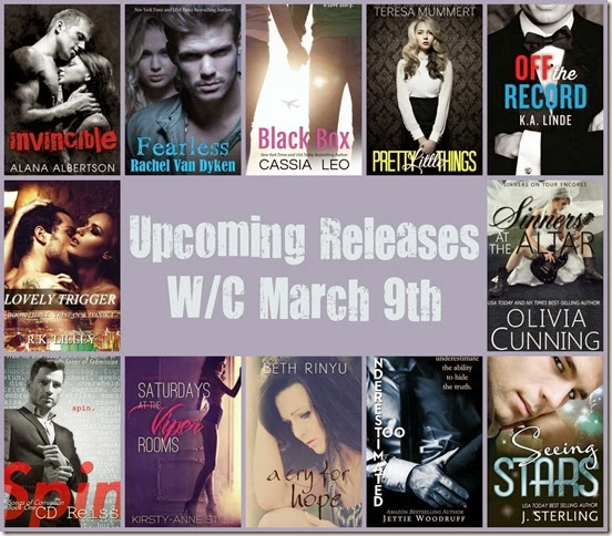 upcoming releases march 9