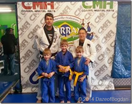 Boys yellow belt