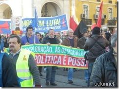 Manifestação  Nacional.Fev.2012