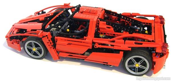 Legoism Flashback 8653 Enzo Ferrari 110