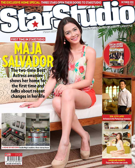 Maja Salvador in StarStudio Oct 2012