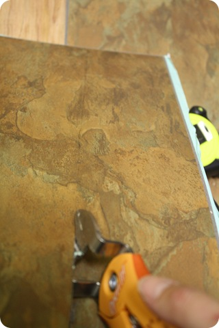 How to install peel and stick floor tiles