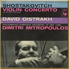 Shostakovich Concierto para violin 1 Oistrakh Mitropoulos