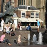 grote markt in haarlem in Haarlem, Noord Holland, Netherlands