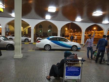 Taxi la aeroportul din Muscat