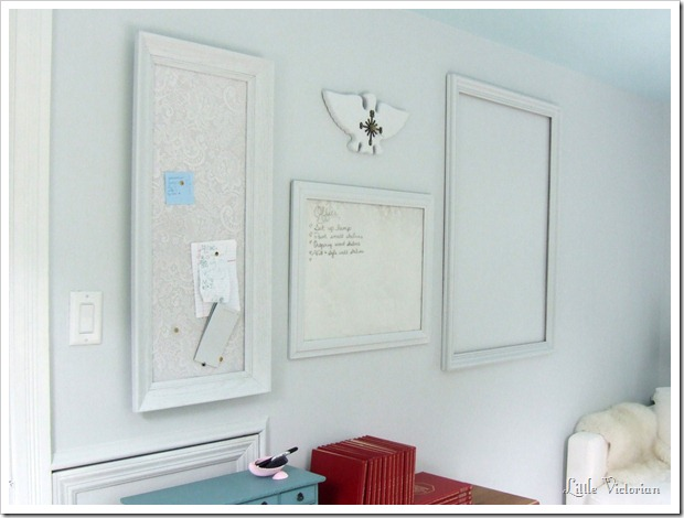 lace dry erase and cork board