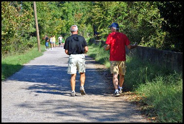 01f - Savannah Rapids Park - Augusta Canal Tow Path - Bill and Bruce