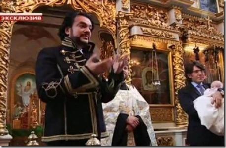 Киркоров в православном храме