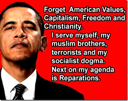 BHO serves MB, terrorists, socialism, etc