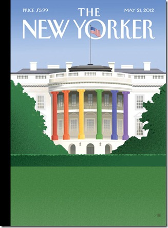 gay white house (new yorker magazine)