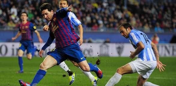 Prediksi Malaga vs Barcelona Liga Spanyol Senin, 14 Januari 2013