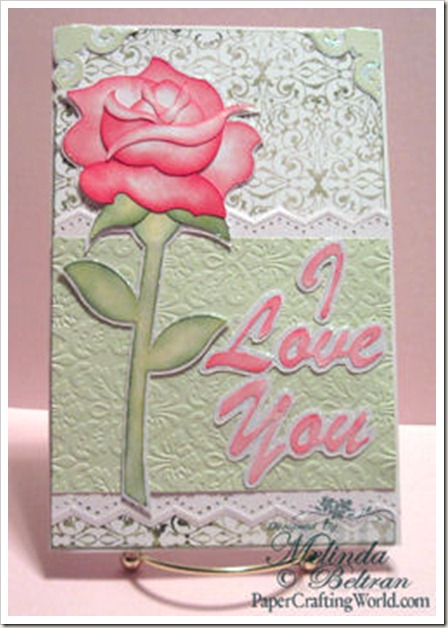 rose card-350
