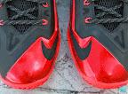 nike lebron 11 gr black red 8 05 New Photos // Nike LeBron XI Miami Heat (616175 001)