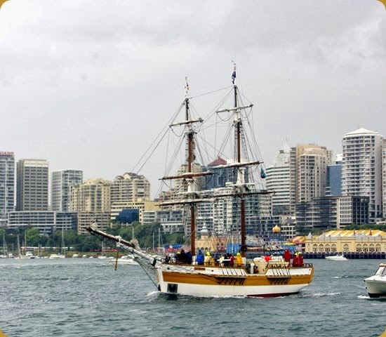 IFR - Tall Ships entering Sydney Harbour
