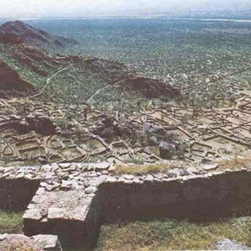 The Quilmes ruins are the remains of the largest pre-Columbian settlement.