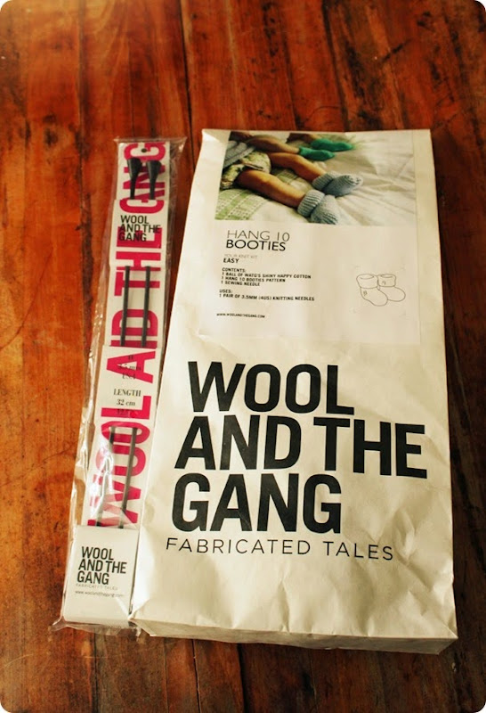 wool and the gang Hang 10 Booties