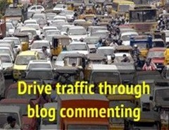 blog commenting to drive traffic