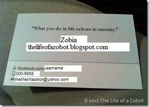 My first set of business cards zobia alvi kickstart your badass back side of the card here you can write a quote or anything you would like at the top and provide your facebook profile link contact number colourmoves