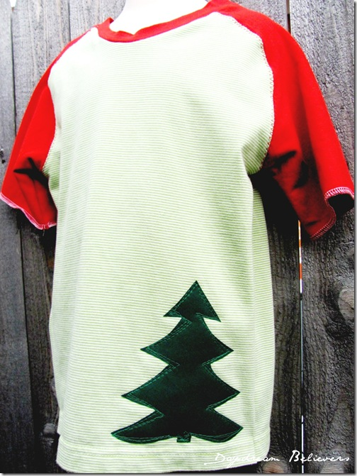 bt christmas tree shirt