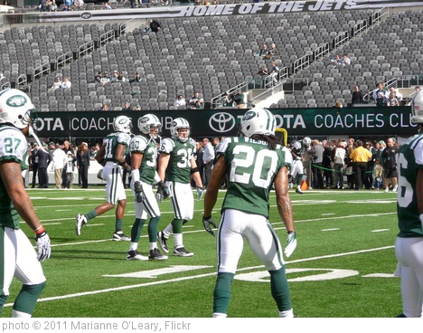 'New York Jets Defensive Backs' photo (c) 2011, Marianne O'Leary - license: http://creativecommons.org/licenses/by/2.0/
