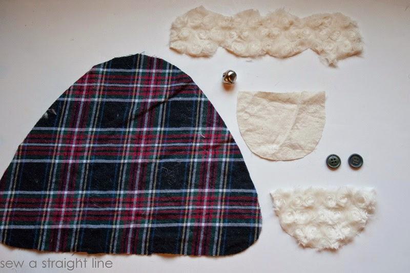 santa face pillows sew a straight line-1