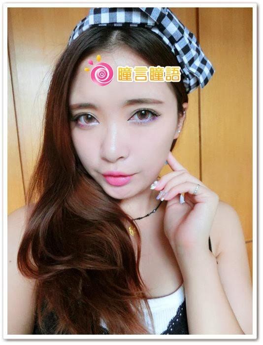 日本ROYAL VISION隱形眼鏡-蜜桃甜心粉紅18