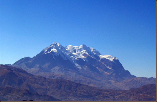 Bolivia_illimani Mountain