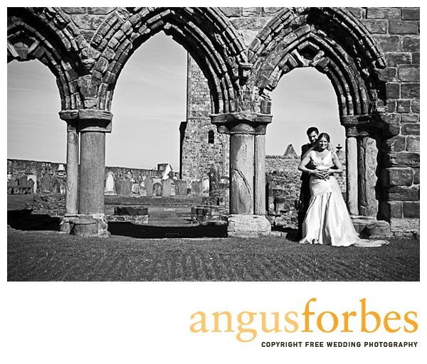 st andrews cathedral Scottish wedding Photographer Dundee_047