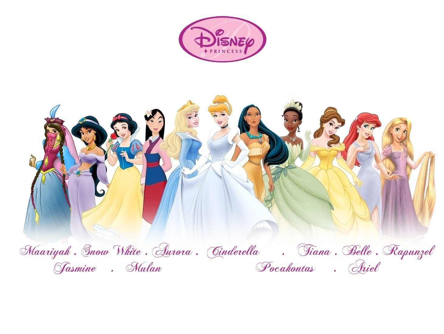 Disney Princess Names disney princesses  3  -