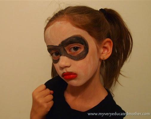 #HarleyQuinn #Halloweencostumeidea #facepaintHOA