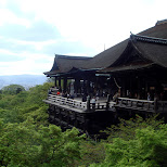 kiyomizu shrine in Kyoto, Kyoto, Japan