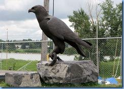 0953 Alberta Calgary - Heritage Park Historical Village - sculpture