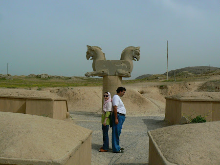 Persepolis, capital of Persia