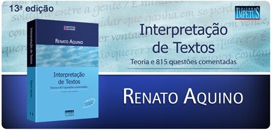 18 - Interpretação de Textos - Renato Aquino