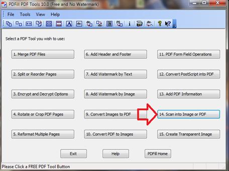 สแกนเอกสารหรือวัตถุเป็นไฟล์ pdf