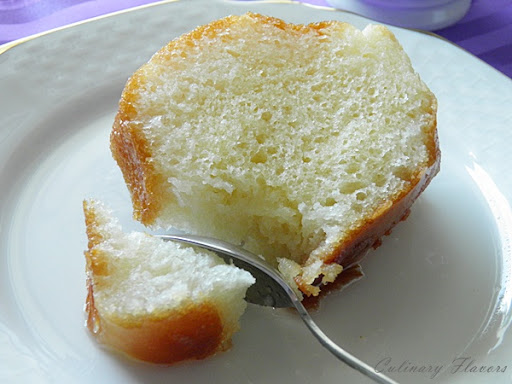 Savarin (Babà with Rum)